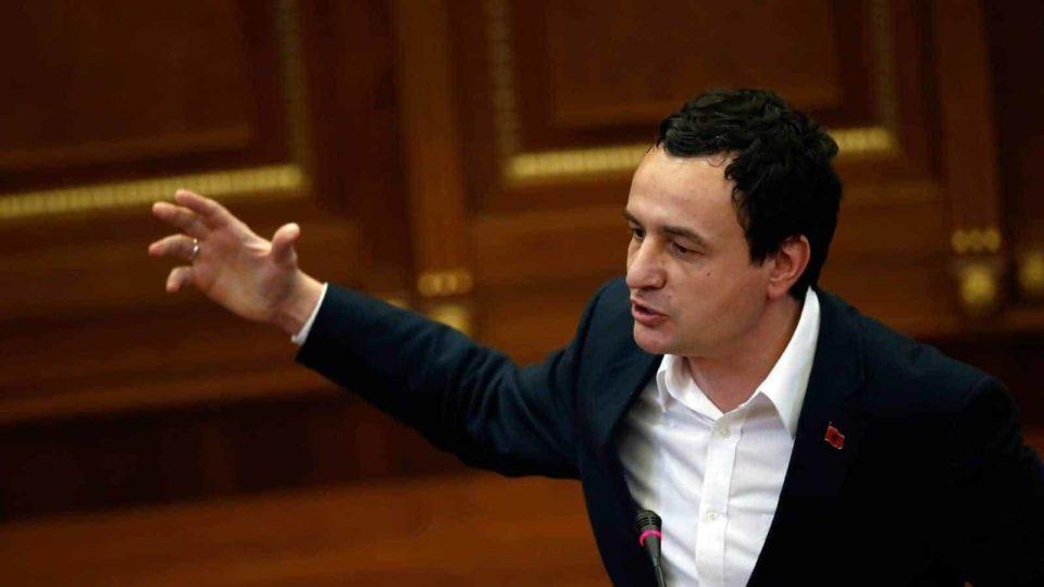 Kurti: Thaçi e Hoti, nuk kanë kapacitet për t'u përballur me Serbinë