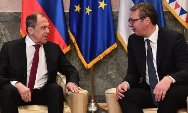 Vuçiq: Lavrov na dha informacione brengosëse, do të na bëjnë presion të madh për Kosovën, ka plane që s'na i kanë treguar