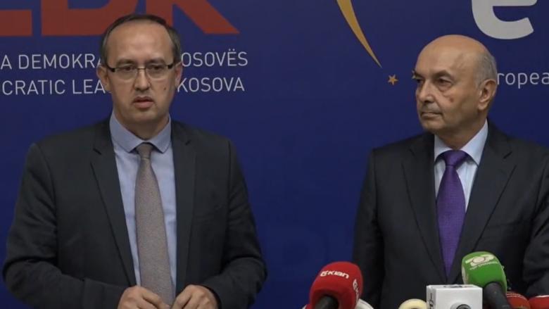 Hoti prezanton ekipin e ministrave të LDK-së, Selmanaj zëvendëskryeministër