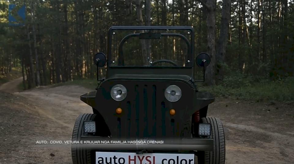 Auto: Covid, vetura e krijuar nga familja Hasi nga Drenasi (VIDEO)