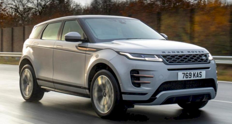 Ky Range Rover Evoque mbushet me rrymë