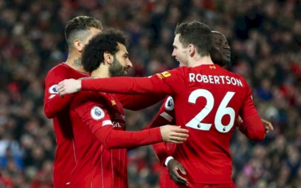 Liverpool merr fitoren e 30 këtë sezon në Premierligë, marshon drejt 100 pikëve