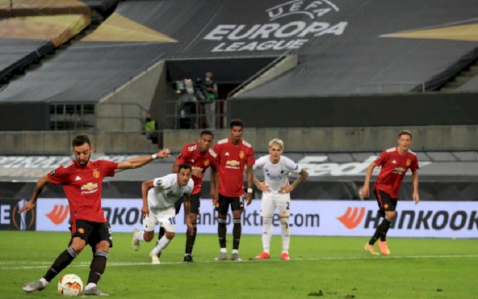 Man Utd në gjysmëfinale të Europa League