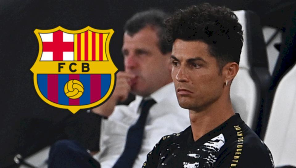 Bomba e ditës: Ronaldo i ofrohet Barcelonës