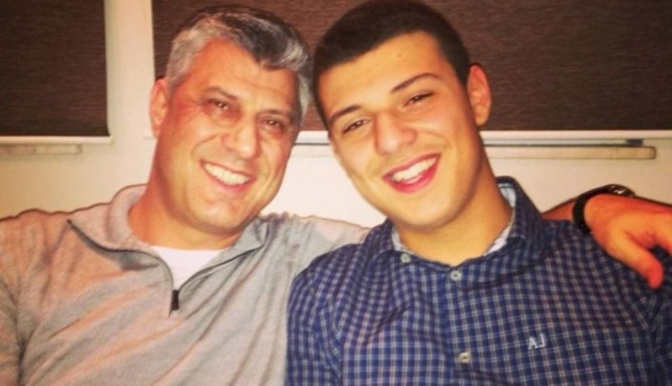 Mjeku tregon gjendjen shëndetësore të birit të Thaçit pas aksidentit