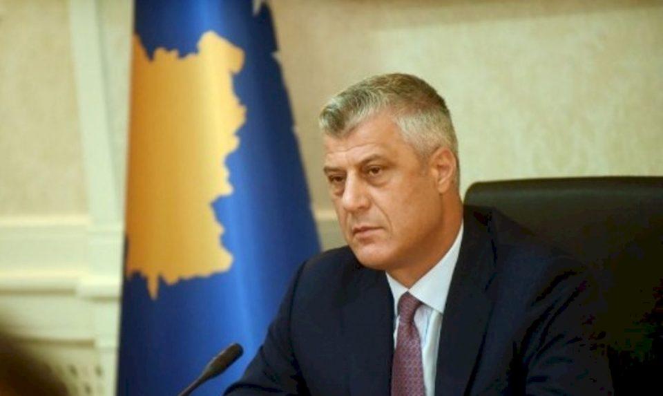 Cili ishte reagimi i Presidentit Thaҫi për aksionin e Njësisë Speciale të Kosovës në Karaçevë?
