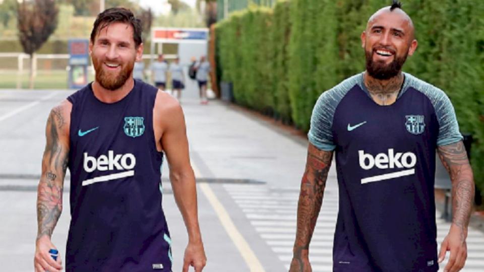"""Mesazhi i Messit pas largimit të Vidal: """"Do të jemi sërish së bashku, sigurt"""""""