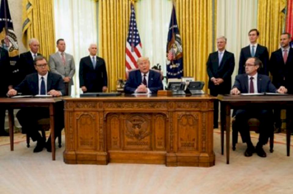 Grenell thotë se zbatimi i marrëveshjes Kosovë-Serbi është prioritet i administratës Trump