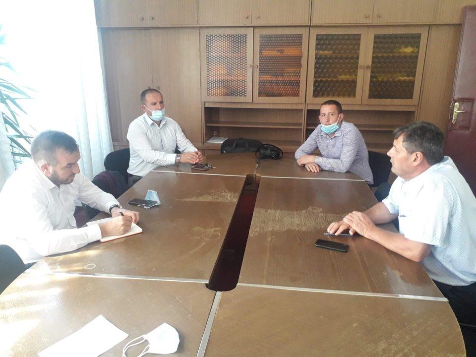 Zv. Ministri i Bujqësisë Pylltarisë dhe Zhvillimit Rural, z. Kastrati vizitoi Komunën e Dragashit