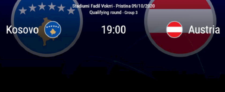 Kosovë U21 – Austri U21, publikohen formacionet zyrtare