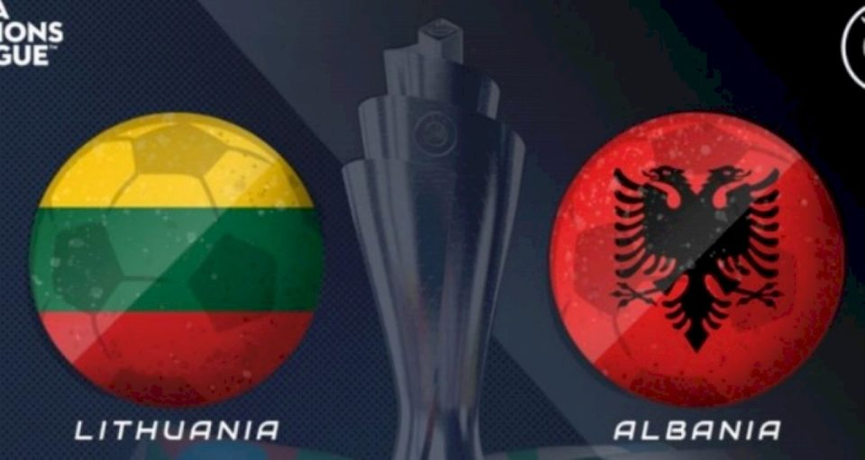 Formacionet zyrtare, Lituani – Shqipëri