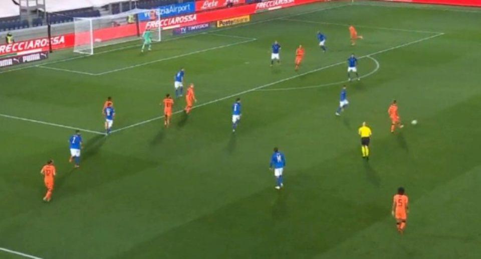Ndeshja Itali – Holandë, shënohen dy gola
