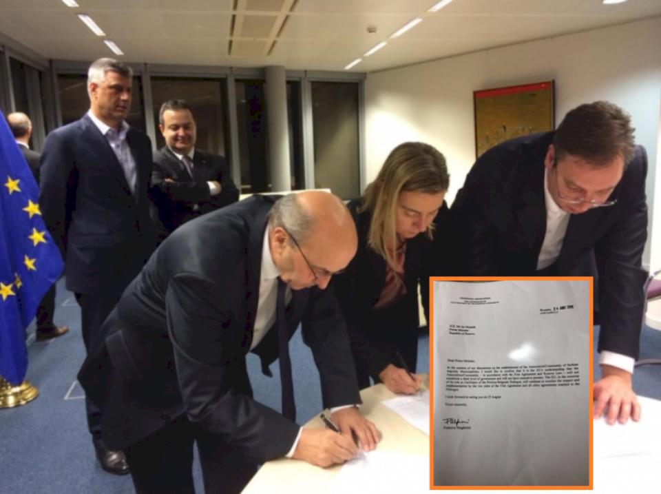 Isa Mustafa publikon letrën që i'a prezantoi sot në takim Lajçakut