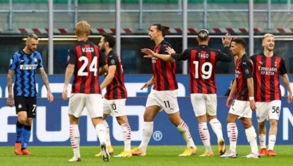 Notat e lojtarëve, Inter 1-2 Milan