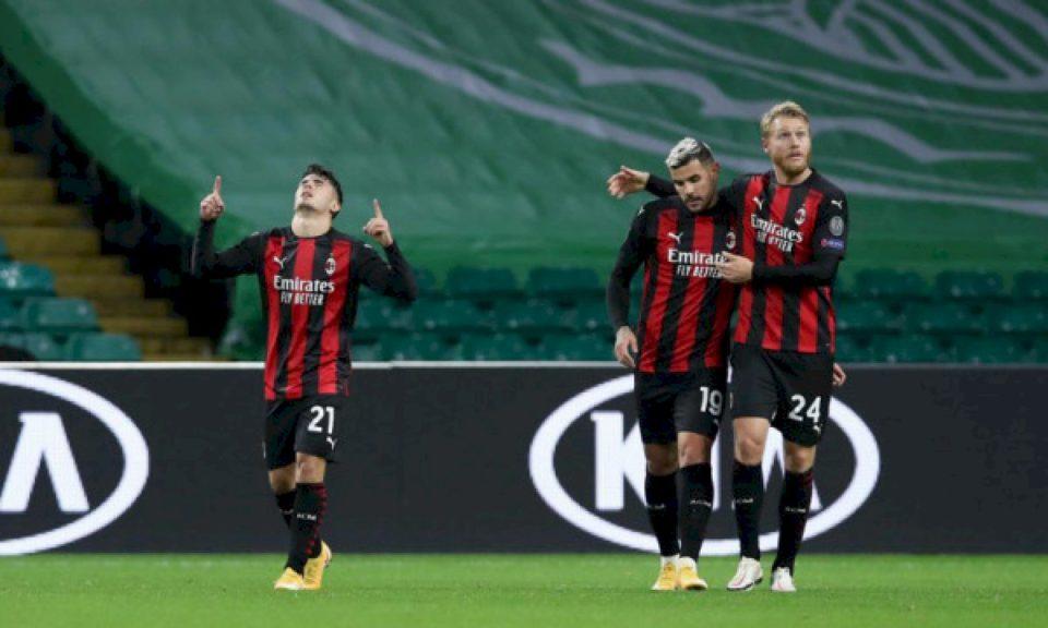 AC Milan kthehet në shtëpi me tri pikë, mposht Celtic