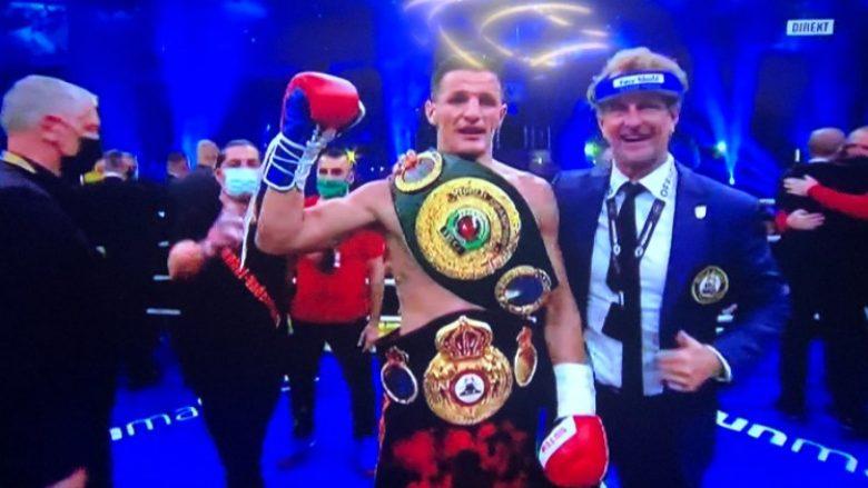 Robin Krasniqi kampion bote në boks
