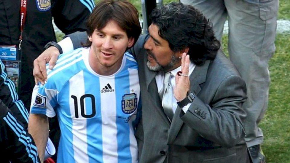 Mesazhi i Messit për Maradonan: Paç gjithë forcën e botës, duam të të shohim mirë