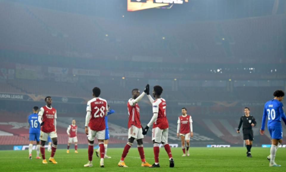 Arsenali e mund Molden, i sigurt në vendin e parë