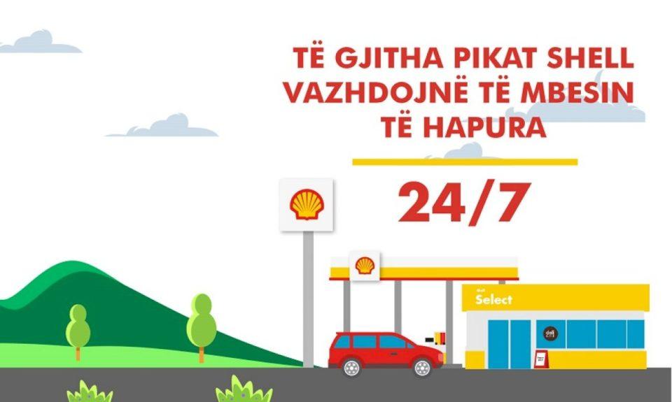 Pikat e Shell Kosova të hapura 24/7