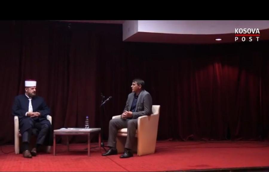 Kryetari Shabani në një panel diskutimi me Shefqet Krasniqin, flasin për profetin Muhamed