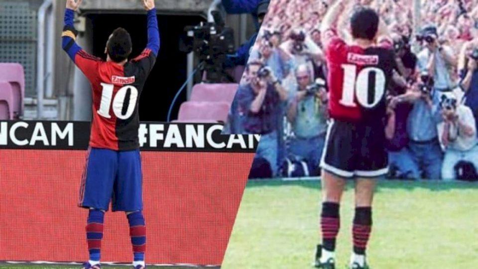 Sa do t'i kushtojë Barcës nderimi që Messi i bëri Maradonas