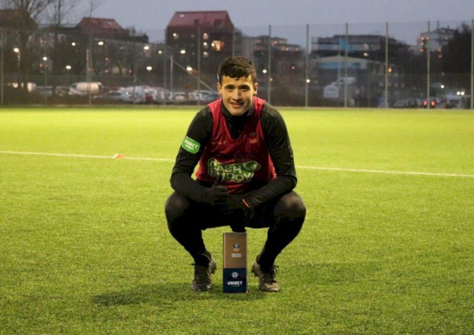 Selmani shpallet lojtari i muajit nëntor në kampionatin suedez
