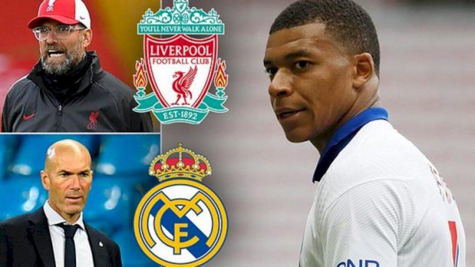 Liverpooli dhe Real Madridi janë serioz në lidhje me transferimin e Mbappes