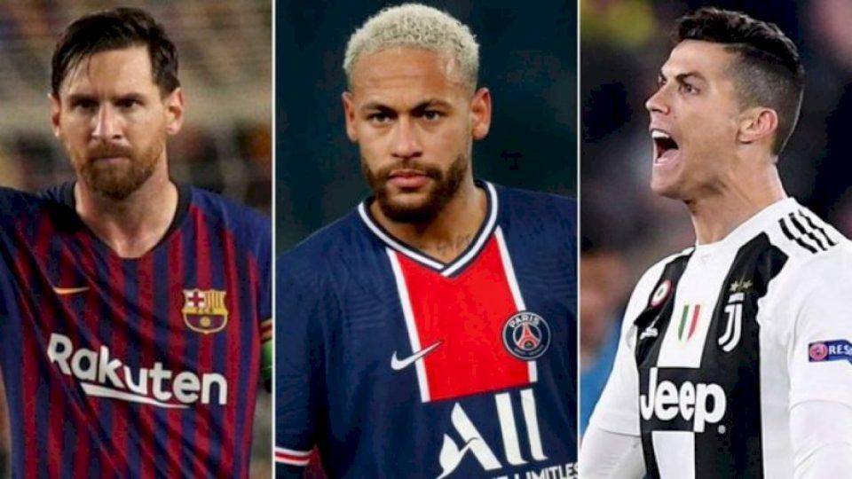 Neymar u bë vetëm lojtari i shtatë që arrin të realizojë tre het-trike e më shumë në Ligën e Kampionëve