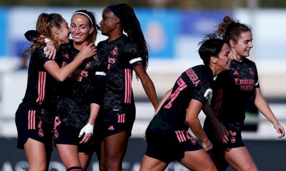 Kosovare Asllani shënon në fitoren 8-1 të Real Madridit