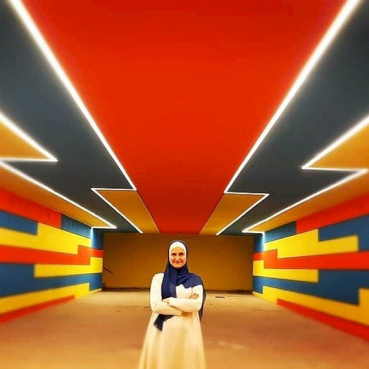 Arkitektja e cila bën art në nënkalimet e kryeqytetit të Kosovës
