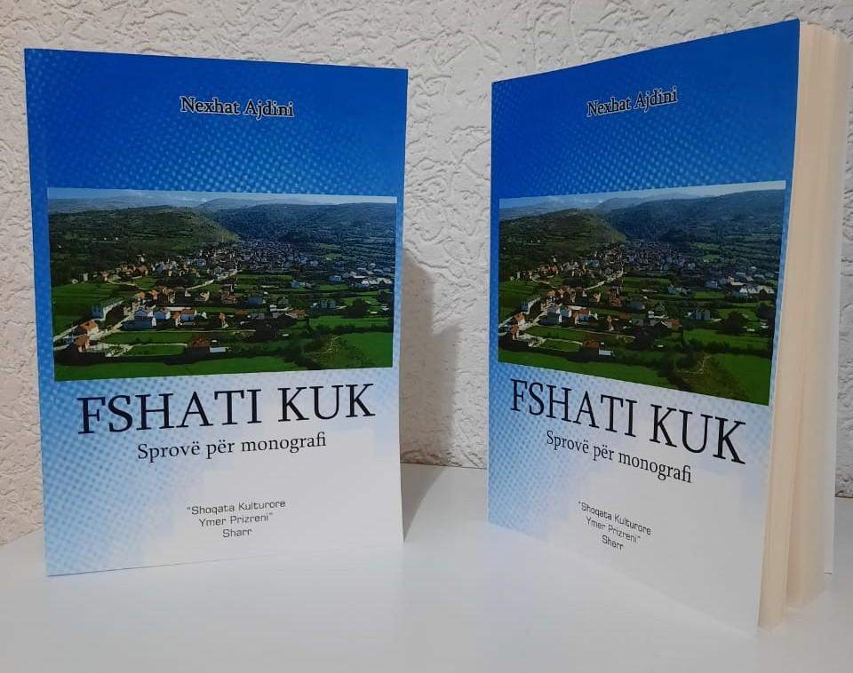 """Sot doli nga shtypi libri """"Fshati Kuk – sprovë për monografi"""" e autorit Nexhat Ajdini"""